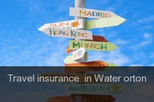 Travel insurance  in Water orton